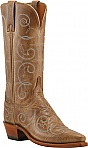 Womens Lucchese 1883 Buck Oil Calf Boots with Dry Stitch