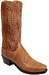 Mens Lucchese 1883 Old Nugget Burnished Lizard Boots