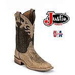 Women's Justin Bent Rail ANTIQUE BEIGE COWHIDE BRL318