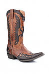 Mens Stetson Burnished Tan Eagle Boot