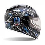 Bell Vortex Seige Blue Helmet