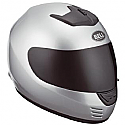 Bell Arrow Metallic Silver Solid Helmet