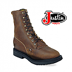 "Men's Justin 8"" AGED BARK Work Boot 760"