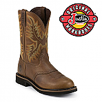 Mens Justin Boots Original Sunset Cowhide steel toe  wk4656