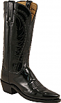 Womens Lucchese 1883 Black Boots