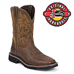 Men's Justin Boots Original Tan Tail WK4822