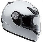 Scorpion EXO-400 Full Face Helmet in Light Silver