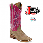 Women's Justin Bent Rail TAN VINTAGE COW BRL311