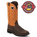 Men's Justin Boots Original RUSTIC BARNWOOD WK4616
