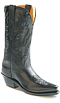 Old West Womens Black Cowboy Boot