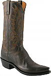 Mens Lucchese 1883 Chocolate Burnished Mad Dog Goat Boots