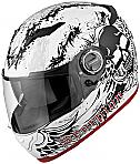 Scorpion EXO-500 Skull White