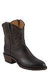 "Womens Lucchese 1883 Chocolate Burnished 7"" Mad Dog Goat Boots"
