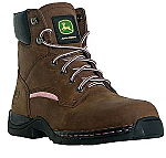 Womens John Deere Lightweight Steel Toe Hiker