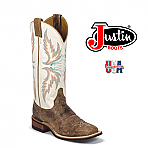Women's Justin Bent Rail TAN PUMA COWHIDE  BRL336