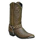 Mens Sage Tribal Brown Cowboy Boot