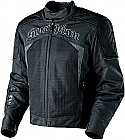 Scorpion Motorcycle Jacket Hat Trick in black