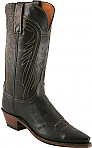 Womens Lucchese 1883 Chocolate Burnished Seville Boots