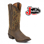 "Men's Justin 13"" Brown Sorrel Apache Round-Toe 2551"