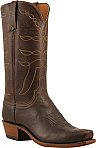 Mens Lucchese 1883 Brown Glazed Rustler Distressed Calf Boots