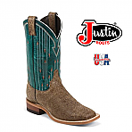 Women's Justin CAMEL CRACKED COWHIDE BRL351