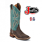 Women's Justin Bent Rail CHOCOLATE PUMA COWHIDE BRL335