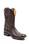 Mens Stetson Black Cherry Full Quill Boot