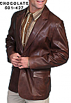 Scully Chocolate Blazer
