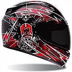 Bell Vortex Seige Red Helmet