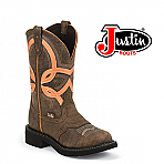 Women's Justin Gypsy Boots BARNWOOD BROWN COW L9952