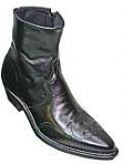 Abilene Mens Black Dress Boot