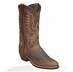 Abilene Men's Tan Bison Cowboy Boot