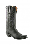 Womens Lucchese 1883 Black Cowboy Boot