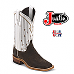 Women's Justin CHOCOLATE MESQUITE COWHIDE  BRL352