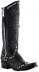 Womens Old Gringo Boots Rock Razz Black