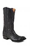 Mens Stetson Cognac Ostrich Boot