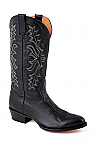 Mens Stetson Black Handburnished Ficcini Boot
