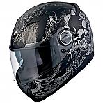 Scorpion EXO-500 Skull Black
