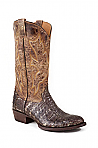Mens Stetson Golden Flank Caiman Boot