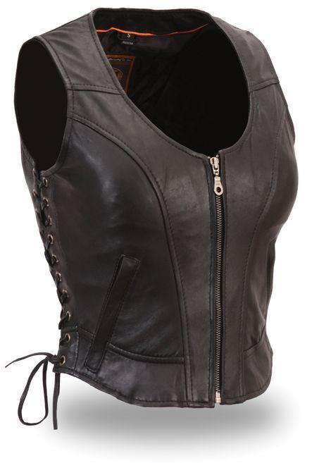 Clean Side-Lace Vest