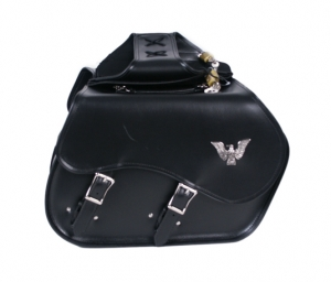 Saddle Bag With Eagle