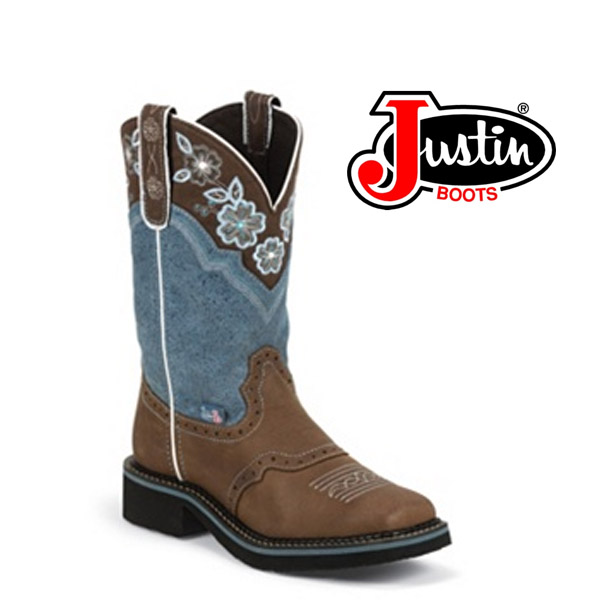 Women's Justin Gypsy Boots Blue AGED BARK L9950