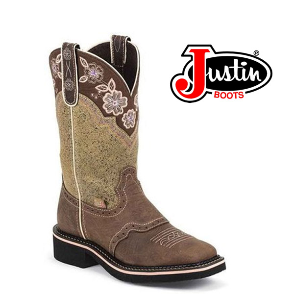 Women's Justin Gypsy Boots BARNWOOD BROWN COWHIDE L9951