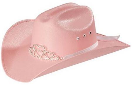 Pink Tiara Cowboy Hat