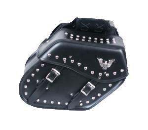 Studded Eagle Saddle Bag