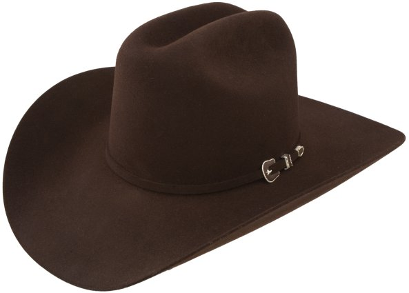 George Strait City Limits Brown Felt Hat