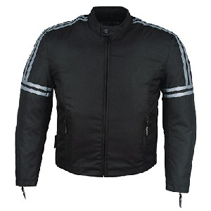 Black and Silver Jacket