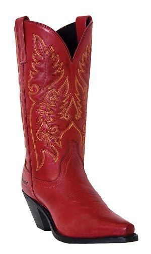 Womens Laredo Boot Burnished Red