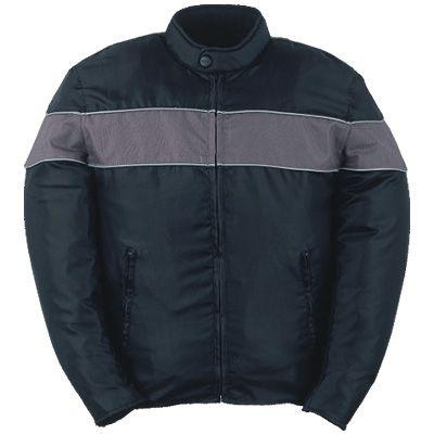 Silver Stripe Waterproof Jacket