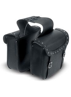 Studded Leather Saddlebag